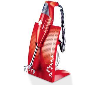 Bamix M200 Swissline rouge/croix suisse