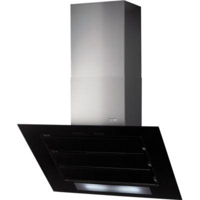 hotte d corative murale roblin vizio 3 murale 900 noir verre. Black Bedroom Furniture Sets. Home Design Ideas