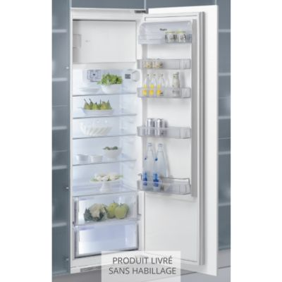 refrigerateur congelateur 1 porte integrable. Black Bedroom Furniture Sets. Home Design Ideas