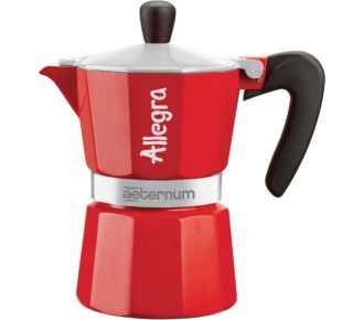 Bialetti ALLEGRA IN SLEEVE 6 Tasses RED