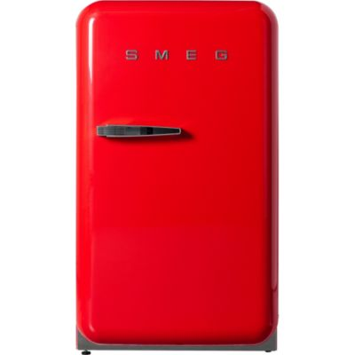 r frig rateur 1 porte smeg fab 10 rr rouge. Black Bedroom Furniture Sets. Home Design Ideas