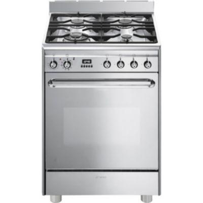 Smeg cuisiniere votre recherche smeg cuisiniere chez boulanger - Cuisiniere mixte pyrolyse chaleur tournante ...