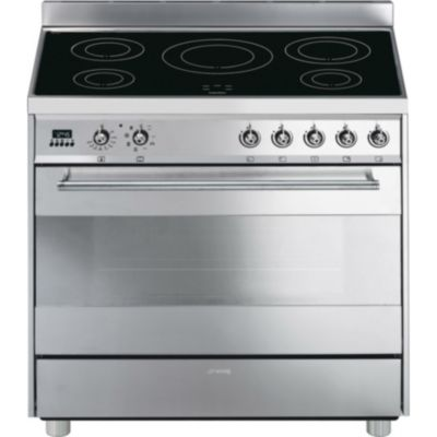 Smeg piano de cuisson induction c9imx 2 cuisini re - Piano induction smeg ...