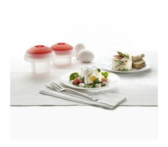 Lekue Kit 2 cuit-oeufs OVO cubique+cylindrique