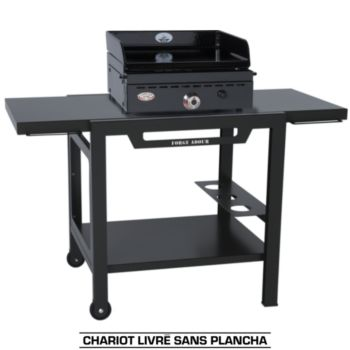 forge adour table roulante fer accessoire barbecue. Black Bedroom Furniture Sets. Home Design Ideas