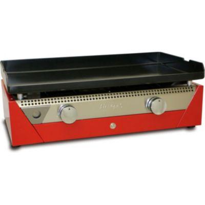 plancha gaz simogas rainbow rouge plancha gaz sur boulanger. Black Bedroom Furniture Sets. Home Design Ideas