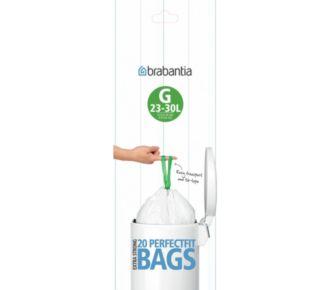 Brabantia poubelle 30 L  rouleaux   de 20 sacs