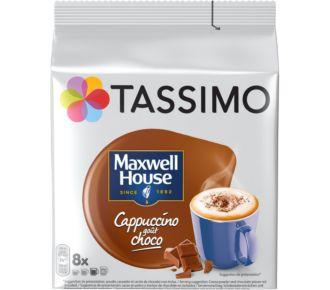 Kraft Tassimo Maxwell Cappucino/choco(8T-Dics)