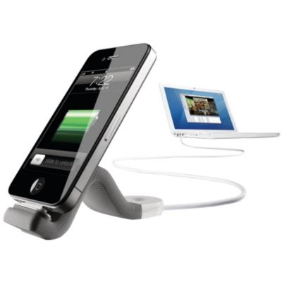 Chargeur iPhone PHILIPS FlexAdapt Iphone/Ipod gris