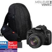 Appareil photo Reflex CANON EOS 100D + 18-55 DC + 2e batterie + Sac
