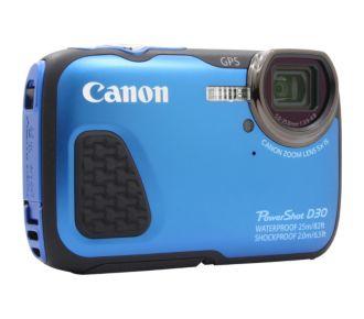 Canon D30 bleu