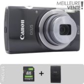 Appareil photo Compact CANON Pack Ixus 162 + Etui + SD 8Go