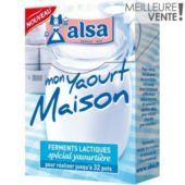 Ferment pour yaourt ALSA MON YAOURT MAISON