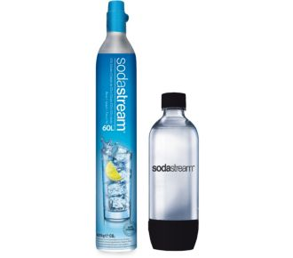 Sodastream PACK Cylindre C02 60L + 1 bouteille