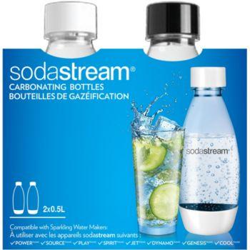 sodastream pack 2 bouteilles pet 0 5l fuse accessoire