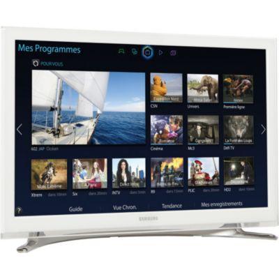 T l viseur tv led samsung ue22h5610 100hz cmr full hd blanc chez boulanger - Televiseur led blanc ...