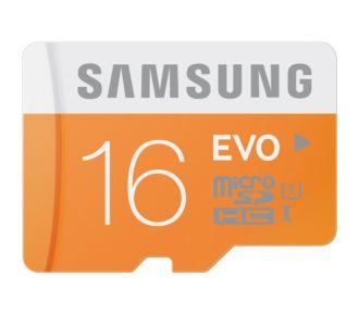 Samsung Micro SD 16Go EVO ADA C10