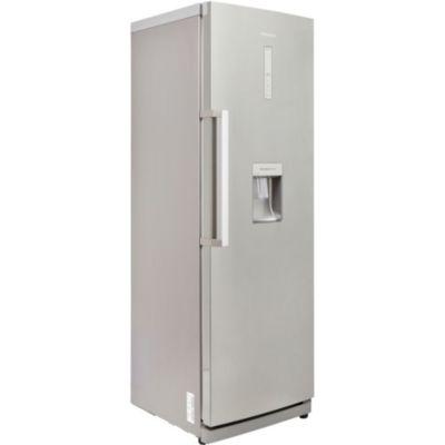 Refrigerateur une porte avec distributeur de glacons - Refrigerateur gris 1 porte ...