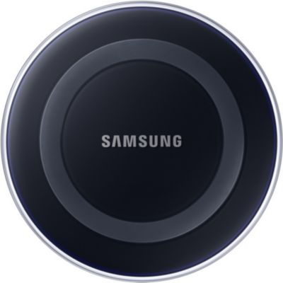 batterie power bank chargeur chargeur induction samsung pad induction design s6 blue black. Black Bedroom Furniture Sets. Home Design Ideas