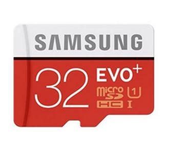 Samsung Micro SD 32Go EVO PLUS Classe 10 + adapt
