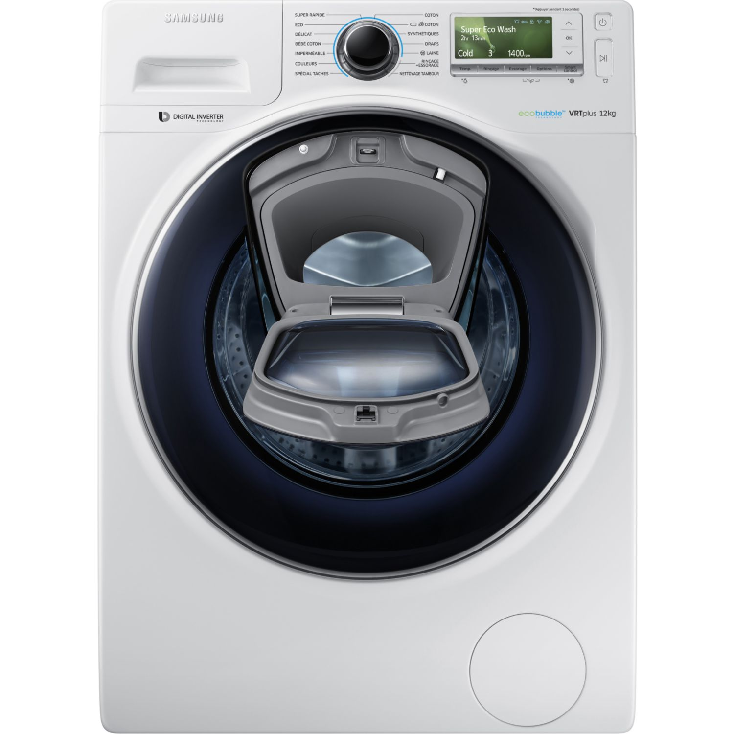 Location sur location lave linge frontal samsung add wash ww12k841 - Lave linge performant ...