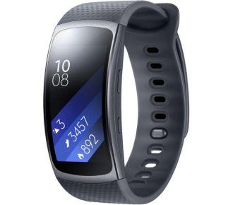 Samsung Gear Fit 2 Noir Taille L