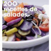 Livre MARABOUT 200 recettes de salades
