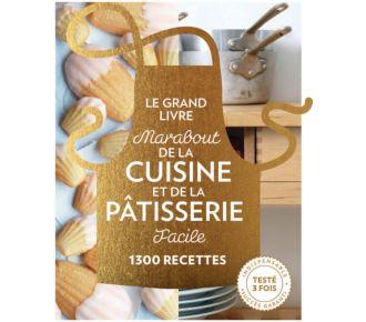 Marabout Grand livre Cuisine et Pâtisserie facile