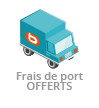 Frais de port <b>offerts</b>