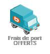 Frais de port <b>offerts</b>