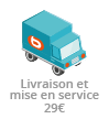 Livraison + mise en service <b>29 €</b>