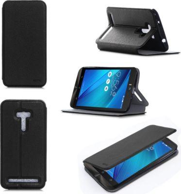 Xeptio asus zenfone 2 selfie zd551kl noir coque etui for Boulanger etui tablette