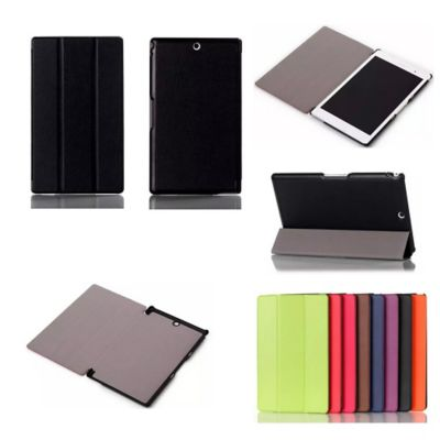 Xeptio sony xperia z3 tablet compact noir housse for Housse tablette boulanger