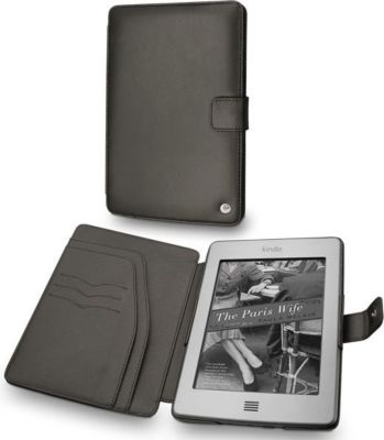 Noreve cuir amazon kindle touch housse protection for Housse tablette boulanger