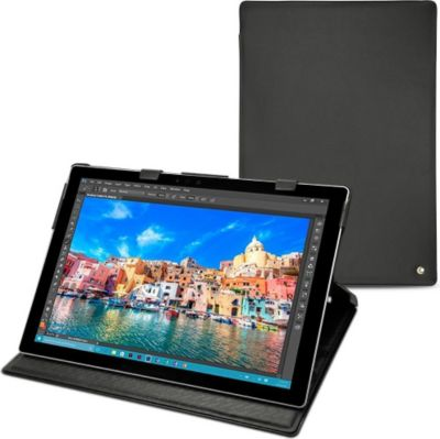 Noreve cuir microsoft surface pro 4 housse protection for Housse tablette boulanger