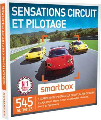 smartbox sensations circuit et pilotage coffret carte cadeau boulanger