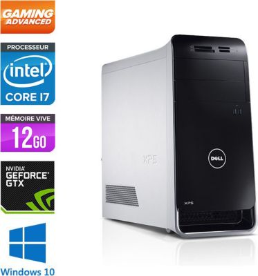 Dell xps 8500 tour gamer reconditionn comme neuf ordinateur de bureau reconditionn - Ordinateur de bureau dell xps 8500 ...