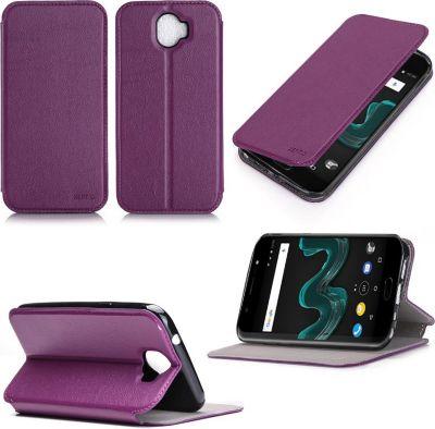 xeptio wiko wim lite 4g violet avec stand coque etui smartphone boulanger. Black Bedroom Furniture Sets. Home Design Ideas