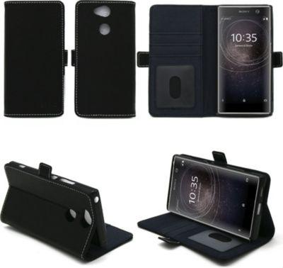 xeptio sony xperia xa2 ultra pochette noir coque etui smartphone boulanger. Black Bedroom Furniture Sets. Home Design Ideas