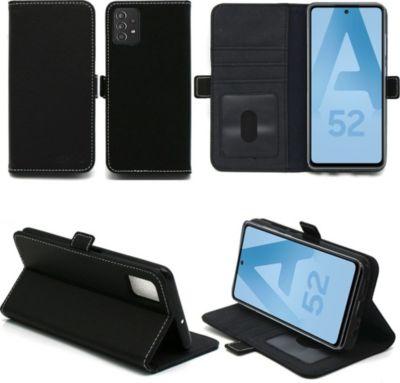 Accessoire smartphone Xeptio Samsung Galaxy A52 5G Etui noir | Boulanger