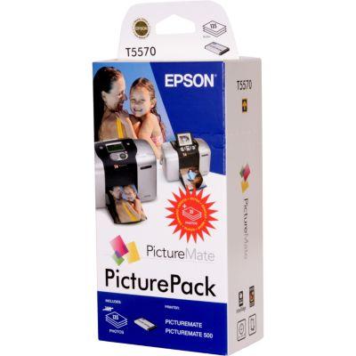 Cartouche d'encre Epson T5570 Picture Pack pour Picture Mate