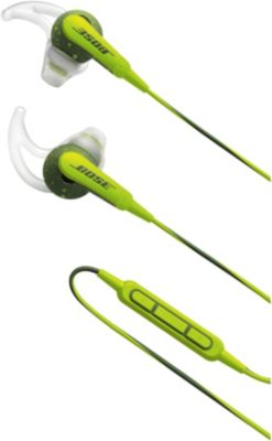 Ecouteurs intra Bose SoundSport Apple vert énergie
