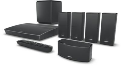 Pack Home cinema bose lifestyle 600 noir