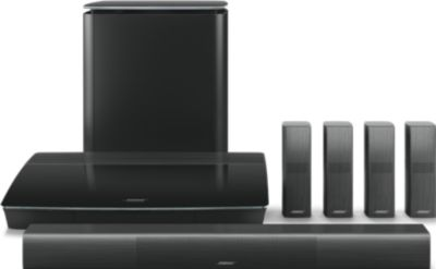 Pack Home Cinema Bose LIFESTYLE 650 NOIR