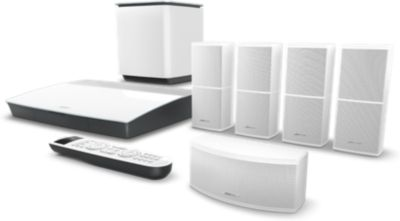 Pack Home cinema bose lifestyle 600 blanc