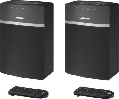 Enceinte Multiroom Bose SoundTouch 10 Noir x2