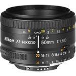 Obj NIKON AF 50mm f/1.8D Nikkor
