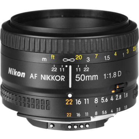 Objectif NIKON AF 50mm f/1.8D Nikkor