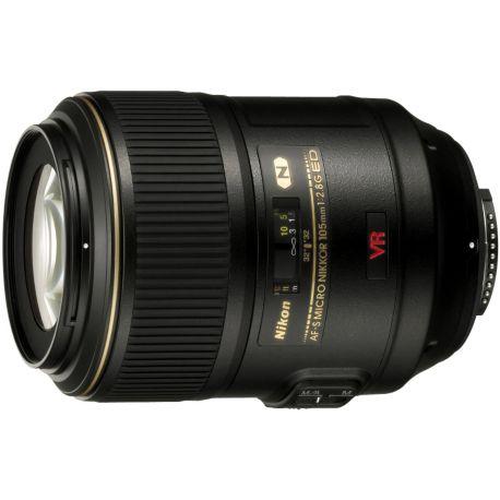 Objectif NIKON AF-S 105mm f/2.8G IF ED VR Micro Nikkor