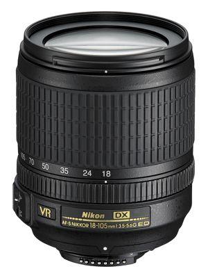 Objectif pour Reflex Nikon AF-S DX 18-105mm f/3.5-5.6G ED VR Nikkor